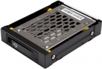 StarTech Trayless Hot Swap Hard Drive Bay for 3.5 Inch Bay to 1x 2.5 Inch SATA HDD/SSD with Anti Vibration