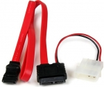 StarTech 50cm Slimline SATA to SATA with LP4 Power Cable Adapter + Be in the draw to WIN 1 of 2 $500 Prezzy Cards