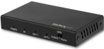 StarTech 2 Port 4K HDMI Video Splitter - Black