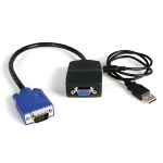 StarTech 1 to 2 Port 2k 2048 x 1536 VGA Video Splitter - USB Powered