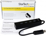 StarTech USB 3.0 4 Port Mini Hub with Built-in Cable