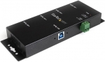 StarTech 4 Port USB 3.0 Industrial USB Hub with ESD Protection
