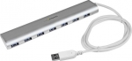 StarTech 7 Port USB 3.0 Powered USB Hub with Built-in Cable