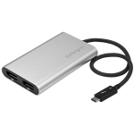 StarTech 4K Thunderbolt 3 to Dual DisplayPort Adapter - Windows Only