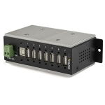 StarTech 7 Port USB 2.0 Industrial USB Hub with ESD Protection & 350W Surge Protection