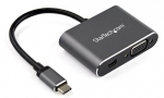 StarTech USB-C to 4K Mini DisplayPort 1.2 or 1080p VGA Monitor Adapter - Space Gray + Be in the draw to WIN 1 of 2 $500 Prezzy Cards