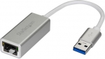 StarTech USB 3.0 to Gigabit Ethernet Adapter - Silver