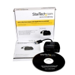 StarTech USB 3.0 Travel Adapter Portable Docking Station - HDMI RJ-45