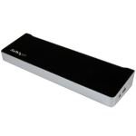 StarTech USB 3.0 Triple Video Docking Station - 1x HDMI, 2x DisplayPort, 5x USB, 1x RJ-45