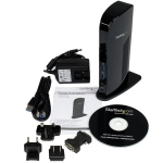 StarTech USB 3.0 Dual Video Docking Station - 1x HDMI, 1x DVI, 6x USB, 1x RJ-45