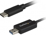StarTech USB 3.0 Type-C to USB Type-A Data Transfer Cable for Mac and Windows