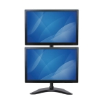StarTech Heavy Duty Steel Vertical Dual Monitor Desk Stand for 13-27 Inch Monitors - Up to 10kg per Display + Be in the draw to WIN 1 of 2 $500 Prezzy Cards
