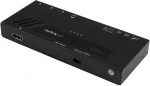 StarTech 4 Port HDMI 4K Automatic Video Switch with Fast Switching - Black