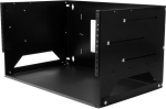 Startech 4U Wall-Mount Server Rack with Built in Shelf - Solid Steel