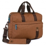STM Judge 15 Inch Laptop Brief Shoulder Bag - Desert Brown