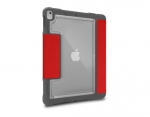 STM Dux Plus Duo Case with Pencil Storage for 10.2 Inch iPad (7th Gen) - Red