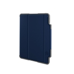STM Dux Plus Folio Case with Apple Pencil Storage for iPad Pro 11 Inch (2nd Gen) - Midnight Blue