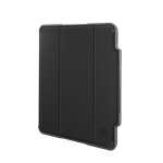 STM Dux Plus Folio Case with Apple Pencil Storage for iPad Pro 12.9 Inch (3rd & 4th Gen) - Black