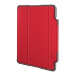 STM Dux Plus Folio Case with Apple Pencil Storage for iPad Pro 11 Inch - Red