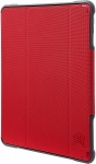 STM Dux Plus Duo Folio Case with Apple Pencil Storage for iPad Air 2019 & iPad Pro 10.5 Inch - Red