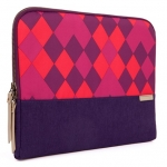 STM Grace 15 Inch Laptop Sleeve - Purple Diamonds