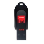 Strontium Pollex 32GB USB2.0 External Flash Drive - Red/Black
