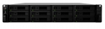 Synology RackStation RS2418RP+ 12 Bay 4GB RAM Diskless 2RU Rack Mountable NAS with Redundant Power Supply
