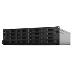 Synology RackStation RS2818RP+ 16 Bay 4GB RAM Diskless 3RU Rack Mountable NAS with Redundant Power Supply