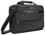 Targus CitySmart Professional Multi-Fit Topload Bag for 14-15.6 Inch Laptops - Charcoal Grey