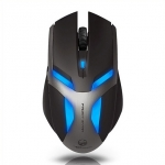 Team Scorpion Frost Wrym 2000DPI USB Gaming Mouse - Black
