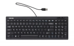 Toshiba Dynabook KU100 USB Wired Keyboard with Numeric Keypad - Black