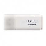 Toshiba Hayabusa 16GB USB 2.0 Flash Drive - White