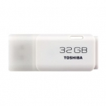 Toshiba Hayabusa 32GB USB 2.0 Flash Drive - White