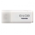 Toshiba Hayabusa 64GB USB 2.0 Flash Drive - White