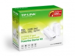 TP-LINK PA9020P AV2000 2-Port Gigabit Passthrough Powerline Adapter Starter Kit