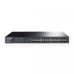 TP-LINK TL-SG3424P 24-Port Gigabit L2 Managed PoE Switch with 4 Combo SFP Slots