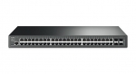 TP-Link T2600G-52TS JetStream 48-Port Gigabit L2 Managed Switch with 4 SFP Slots