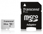 Transcend 64GB Micro SD Memory Card with SD Adapter