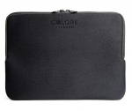 Tucano Colore Neoprene Sleeve for 13 to 14 Inch Laptops - Black