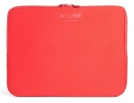 Tucano Colore Neoprene Sleeve for 13 to 14 Inch Laptops - Red