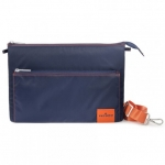 Tucano Lampo Slim Multi-Pocket Shoulder Bag for 13 Inch Laptops - Blue