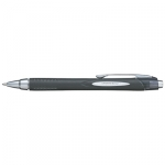 Uni-Ball Jetstream 210 1.0mm Retractable Black Rollerball Pen - 12 Pack
