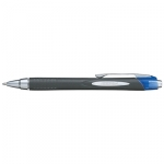 Uni-Ball Jetstream 210 1.0mm Retractable Blue Rollerball Pen - 12 Pack