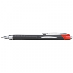 Uni-Ball Jetstream 210 1.0mm Retractable Red Rollerball Pen - 12 Pack