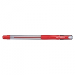 Uni-Ball Lakubo 100 1.0mm Red Ballpoint Pen
