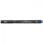 Uni-Ball Pin 200 0.4mm Blue Permanent Fine Liner Pen