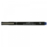 Uni-Ball Pin 200 0.8mm Blue Permanent Fine Liner Pen