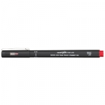 Uni-Ball Pin 200 0.4mm Red Permanent Fine Liner Pen