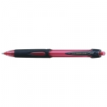 Uni-Ball Power Tank 220 1.0mm Red Retractable Ballpoint Pen - 12 Pack