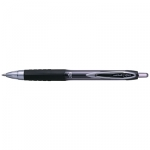 Uni-Ball Signo 207 0.7mm Retractable Black Rollerball Pen - 12 Pack